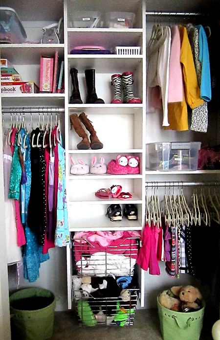Kids Closet Organization Ideas Diy Shelves